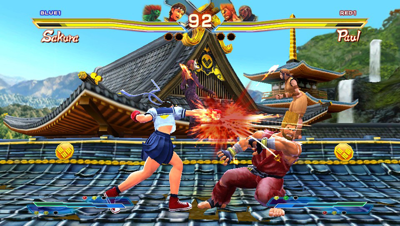 Street Fighter X Tekken on PlayStation Vita -
