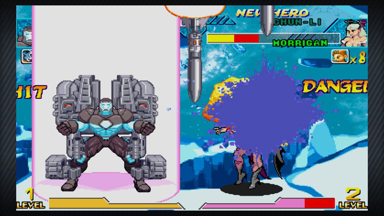 marvel vs capcom war machine