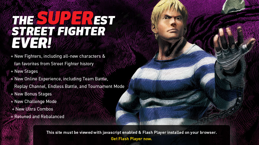 CHARACTERS - SUPER STREET FIGHTER® IV